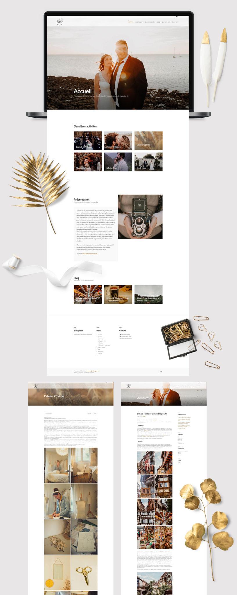 Création site web bLuzynska