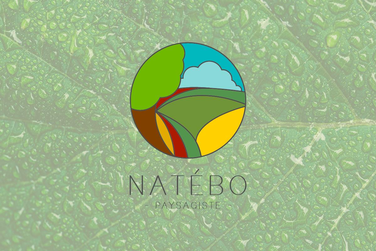 création logo natebo